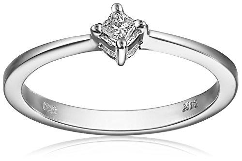 14k White Gold Princess-Cut Diamond Promise Ring (0.07 carat, H-I Color, I2 Clarity), Size 7 41G6SU0Rq9L home Home 41G6SU0Rq9L