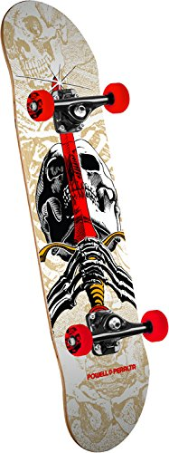 Swiss Powell (Powell-Peralta Skull & Sword One Off Mini Prebook! Standard Skateboard, Multicolor, 13