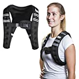 SWEATFLIX Weighted Body Vest for Men & Women: BodyRock Weight Vests for Training, Running, Crossfit or Walking - Fitness Gear & Workout Equipment - Single 10 lb Vest