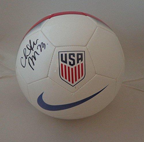 Signed Press (Christen Press USA Womens Soccer signed Team USA Soccer Ball autographed - Autographed Soccer Balls)