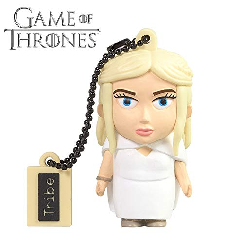 Tribe, Game of Thrones Daenerys, 16GB USB Flash Drive 2.0 Memory Stick Keychain
