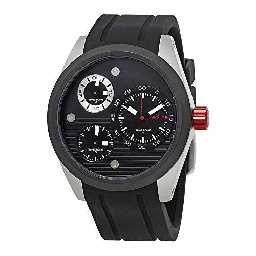 Redline Analog - red line Men's RL-10557-01-BB Jetstream Analog Display Quartz Black Watch