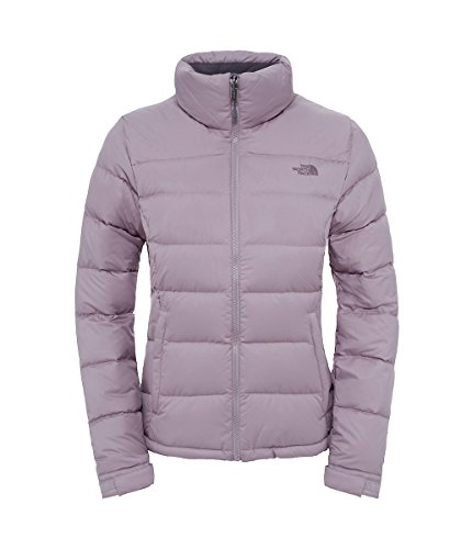 The North Face Women's Nuptse 2 Jacket, Quail Grey, LG