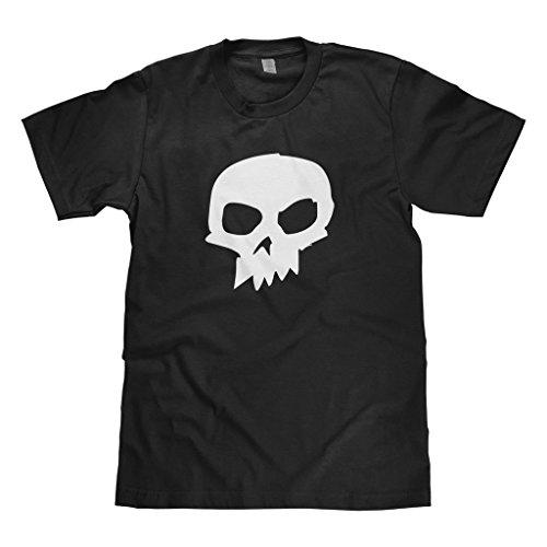 Mixtbrand Big Boys' Sid Skull Youth T-shirt M Black