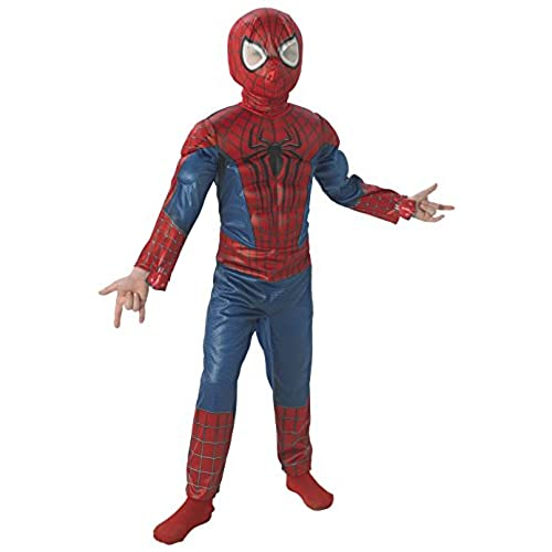 The Amazing Spider-man 2 Deluxe Spider-man Costume Child Large  sc 1 st  Amazon.com & Amazing Spider Man Costumes: Amazon.com