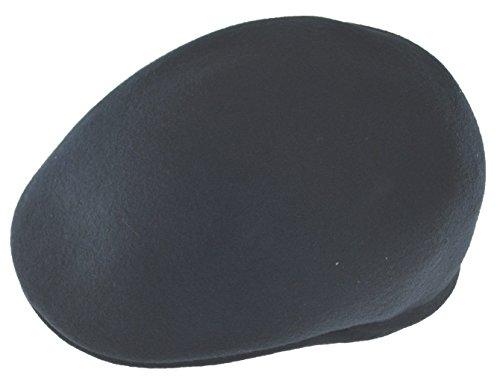 Kb Ethos 100% Wool Felt Crushable Ascot Ivy Cap Hat SM Navy