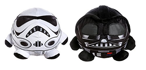 Star Wars Palz Plush Night Light! 6inch Height 8inch Wide! Perfect Nightstand Pal for Your Little Padawan! (Darth Vader & Stormtrooper)