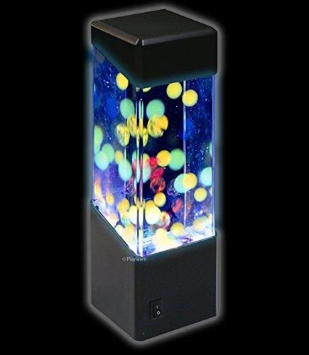 Jellyfish Water Ball Tropical Fish Aquarium Tank Mesmerising LED Lights  Relaxing Mood Lamp Light by Play (Water Jelly Balls)