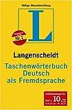 Taschenwoerterbuch Deutsch als Fremdsprache