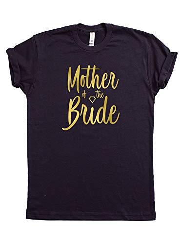 Amazon Com Mother Of The Bride Woman Vinyl Print Tshirt Wedding