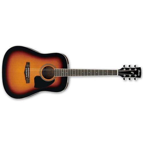Ibanez PF15VS Performance Dreadnought Acoustic Guitar Gloss Vintage Sunburst