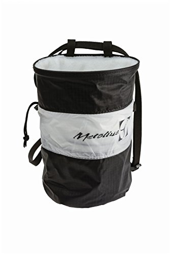 Metolius Ultralight Cylinder Chalk Bag - Black/White (Chalk Bag Metolius)