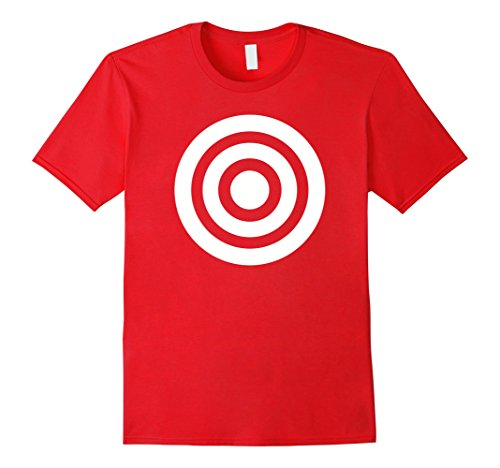 Mens Target circles T-Shirt Medium - For Men Target