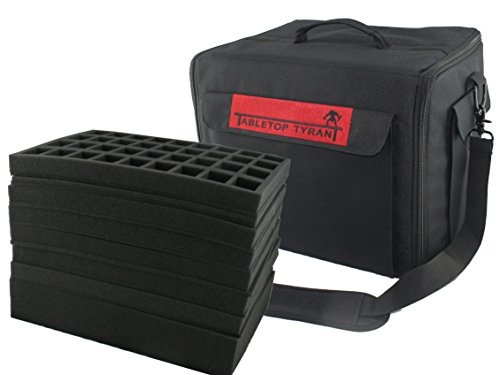 The Tyrant Army Storage Figure Case including foam by Tabletop Tyrant
