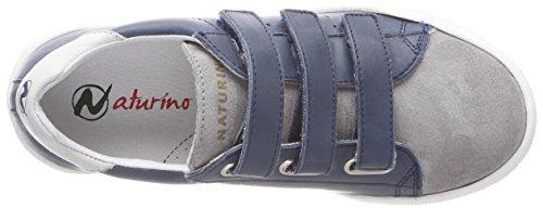 Naturino Willy VL, Zapatillas Para Niños Mehrfarbig (Piombo-Navy-Bianco)