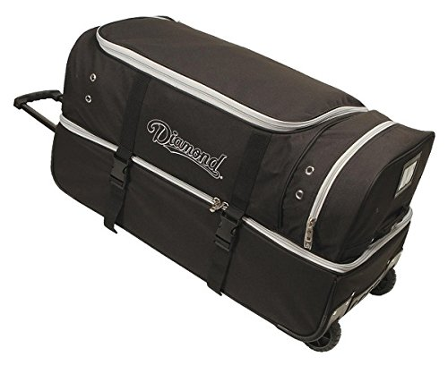 Diamond Sports Umpire Gear Bag with Wheels, 30-Inch