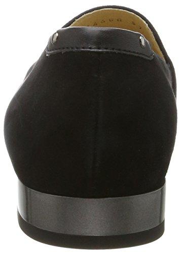 Geox Dames D Wistrey Een Gesloten Flat Black (zwart)