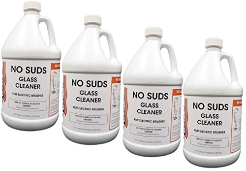 No Suds- Low-foaming Liquid Glass cleaner for automatic brushes