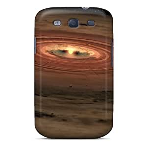 New Fashionable Eriklcoeman YFNCOWD371YLBzc Cover Case Specially Made For Galaxy S3(solar System Sun)