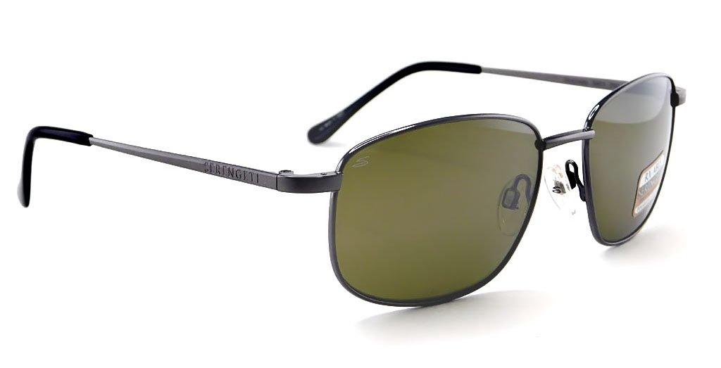 Serengeti 8401-Monreale Monreale Glasses, Shiny Gunmetal by Serengeti (Image #1)