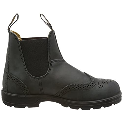 Blundstone Rustic Black Premium Leather Chelsea Boot