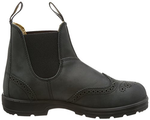 1472 Mens Blundstone Leather Boots Black Rustic va5qg
