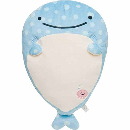 San-x Jinbesan Plush doll Pillow (Whale shark)