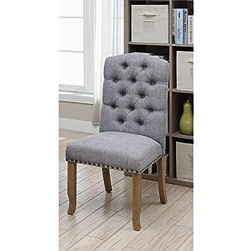 Amazon.com: Furniture of America Pasadena - Silla auxiliar ...