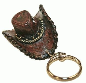 (Western Cowboy Hat Keychain,)