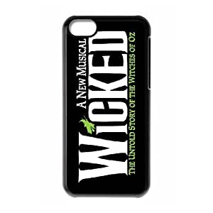 Wicked The Musical Pattern Productive Back Phone Case For Iphone 5c -Style-2