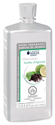 Lampe Berger Fragrance, 33.8 Fluid Ounce, Citrus Leaves