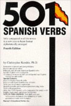 501 Spanish Verbs (Barrons)