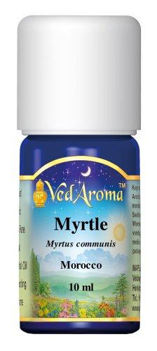 VedAroma Миртл терапевтической степени чистоты 10 Эфирное масло мл