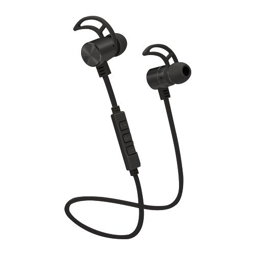 POM GEAR Pro2Go P-ONE Bluetooth Noise-Cancelling Earbuds (Black)