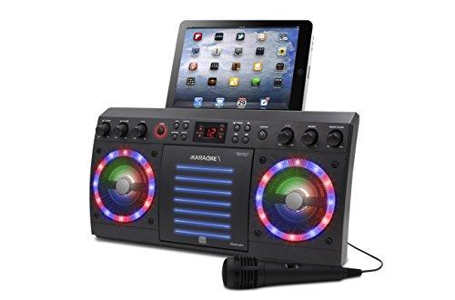 iKaraoke KS303B-BT Bluetooth CD&G Karaoke System, Black by iKaraoke (Image #2)
