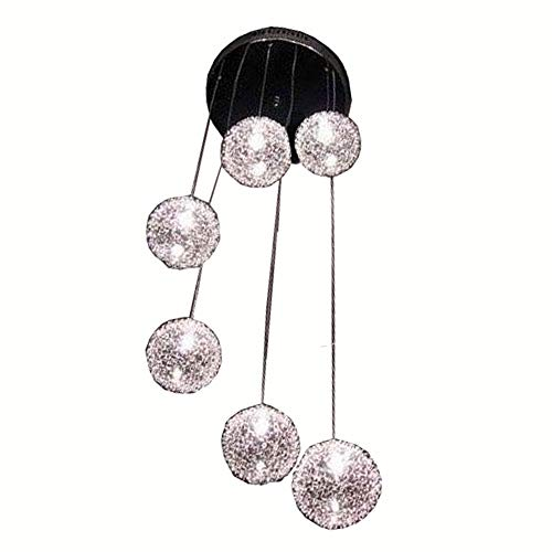 6 Light Wire Ball Pendant in US - 6