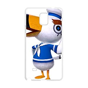 Samsung Galaxy Note 4 Cell Phone Case White_Animal Crossing New Leaf_016 Chqee
