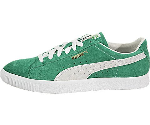 PUMA Men Suede - 90th Anniversary Green Kelly White Size 9.5 ()
