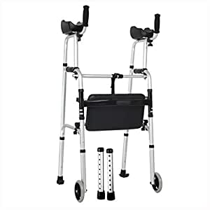 Fkdewalker aluminum foldable walking mobility for Mobility walker