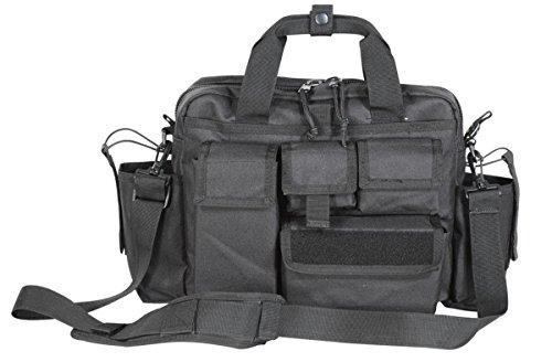 VooDoo Tactical New 15-9028 Advanced Tactical Attache Black (Last Resort Tactical Attache)