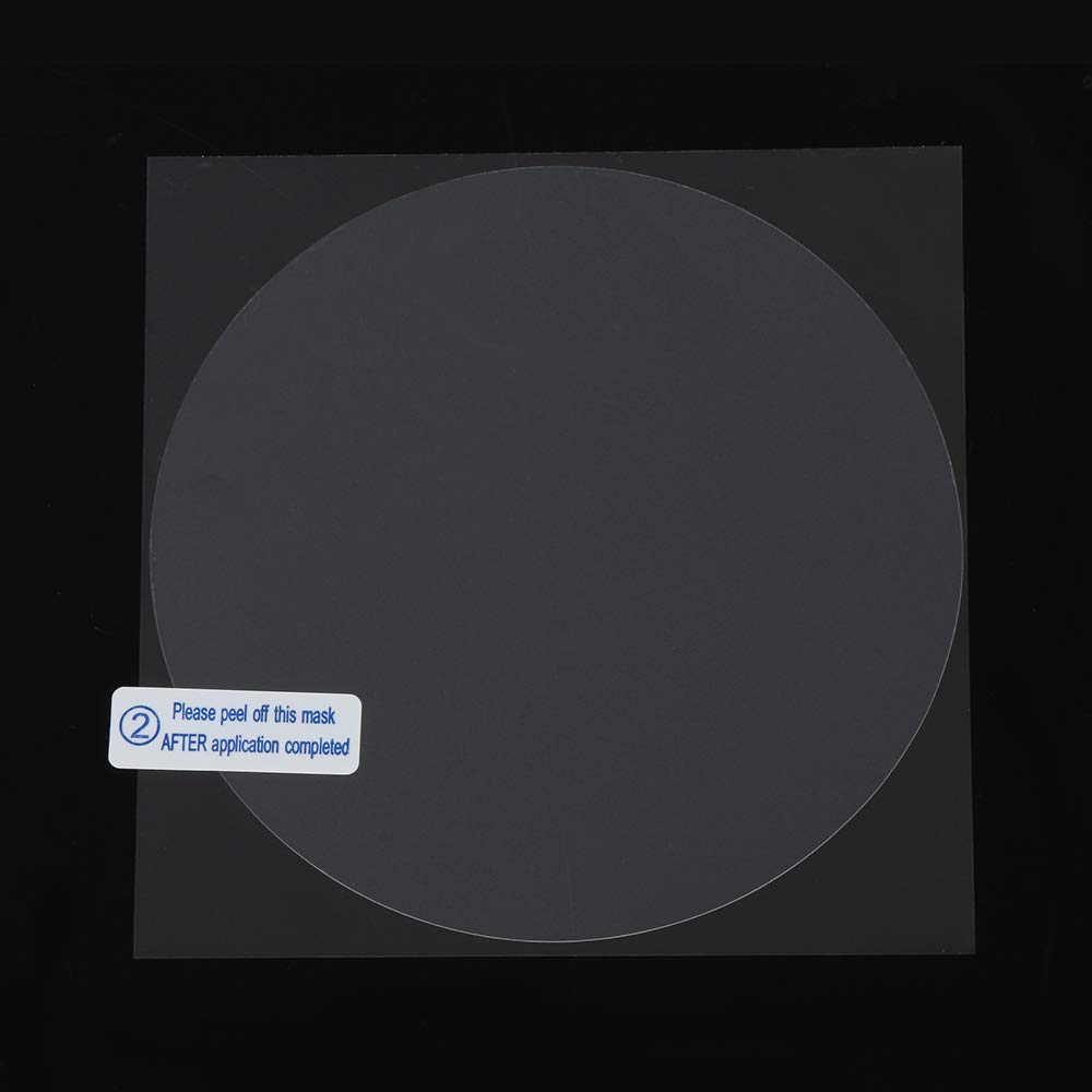 2PCS Nano Glass Anti Mist Protective Sticker Anti-Fog Car Rearview Mirror Film Hydrophobic Rainproof