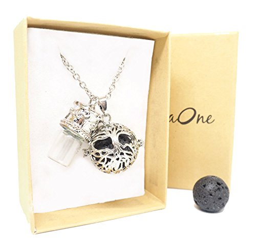 Aromatherapy Necklace essential diffuser pendant product image