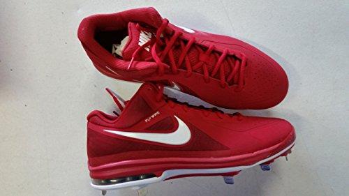 Nike Air Max Mvp Elite (8.5) Rood Wit