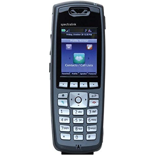 Spectralink 8440 Black Handset Without Lync Support, Battery and Charger Sold Separately - Part Number 2200-37148-001 (Renewed) by Spectralink (Image #1)