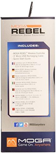 MOGA Rebel Premium iOS Gaming Controller - iPhone/iPad/iPod (Mac) by MOGA (Image #3)