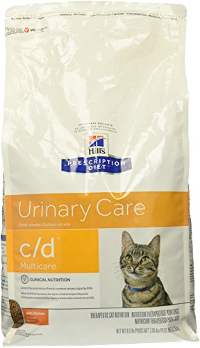 Hill's Prescription Diet c/d Feline Urinary Tract Multicare, Chicken - 8.5lb
