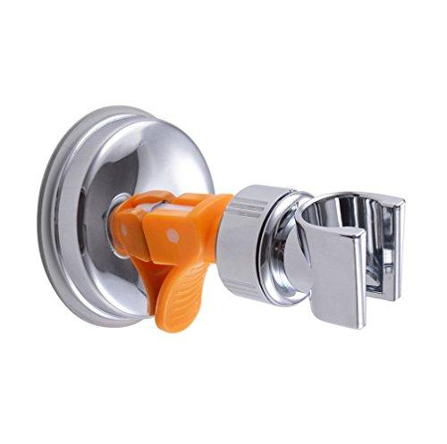KES Bathroom ABS Handheld Showerhead Bracket Holder with Suction Cup, Polished Chrome - Showerhead Holder