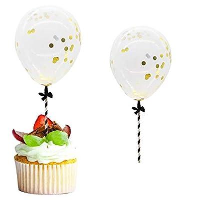 Amazon com: Cake Decorating Supplies - 5pcs 5inch Confetti