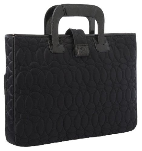 Chelsey Henry 13-Inch / 15-Inch Laptop Sleeve with Handles - Black