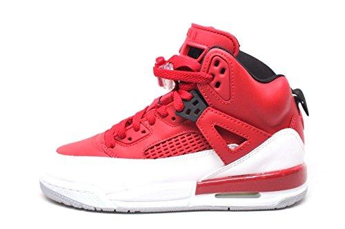 Jordan Spizike BG Big Kids Shoes Gym Red/Black/White/Wolf Grey 317321-603 (5 M US) (Air Jordan 5 Fire Red Black Tongue 2013)